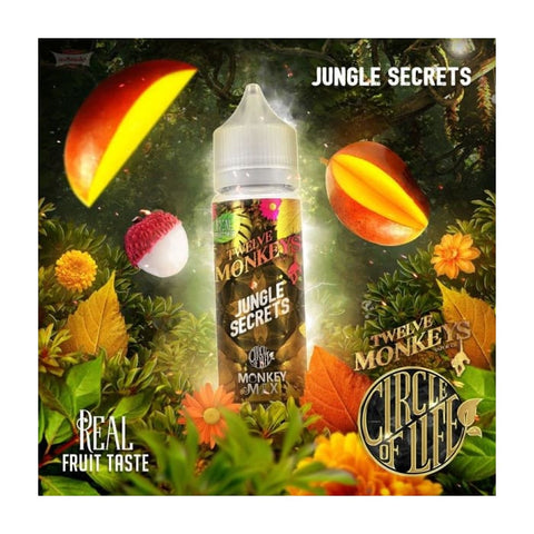 Twelve Monkeys Jungle Secrets E-Liquid