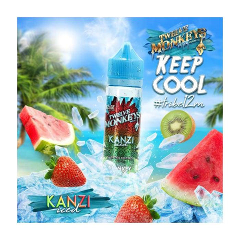 Twelve Monkeys Kanzi Iced E-Liquid