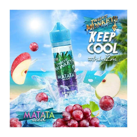Twelve Monkeys Matata Iced E-Liquid