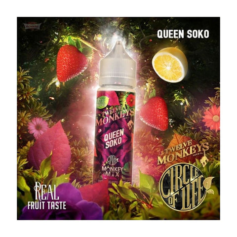 Twelve Monkeys Queen Soko E-Liquid