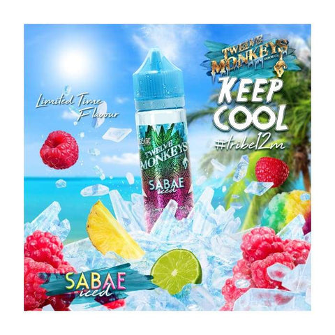 Twelve Monkeys Sabae Iced E-Liquid