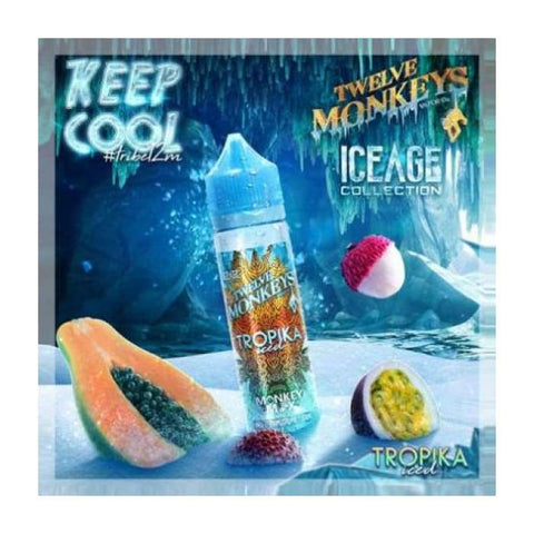 Twelve Monkeys Tropika Iced E-Liquid