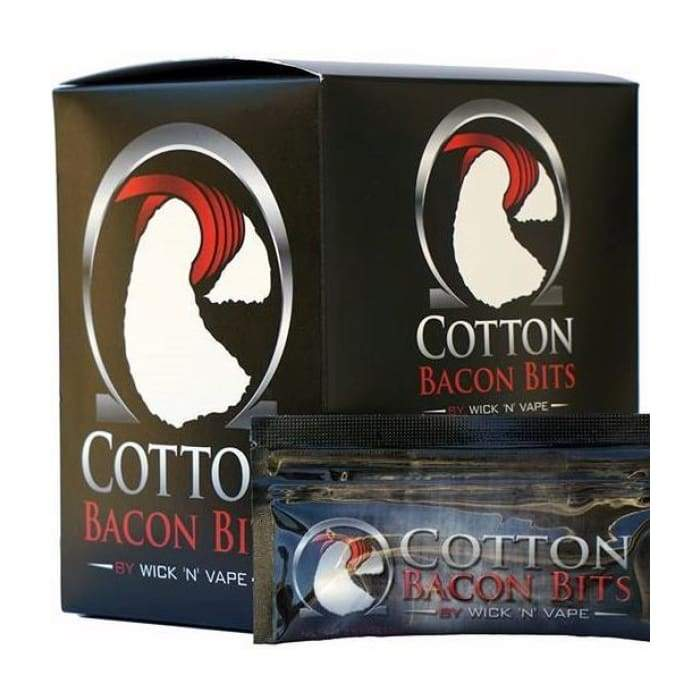 Wick 'n' Vape Cotton Bacon Bits Watte