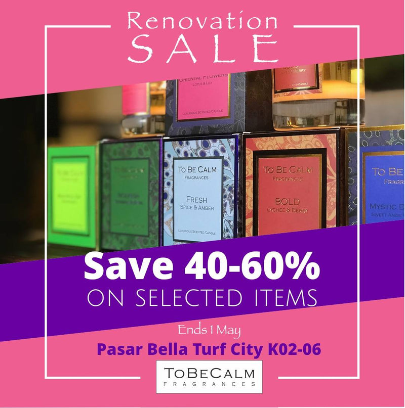 Renovation Sale - Pasarbella