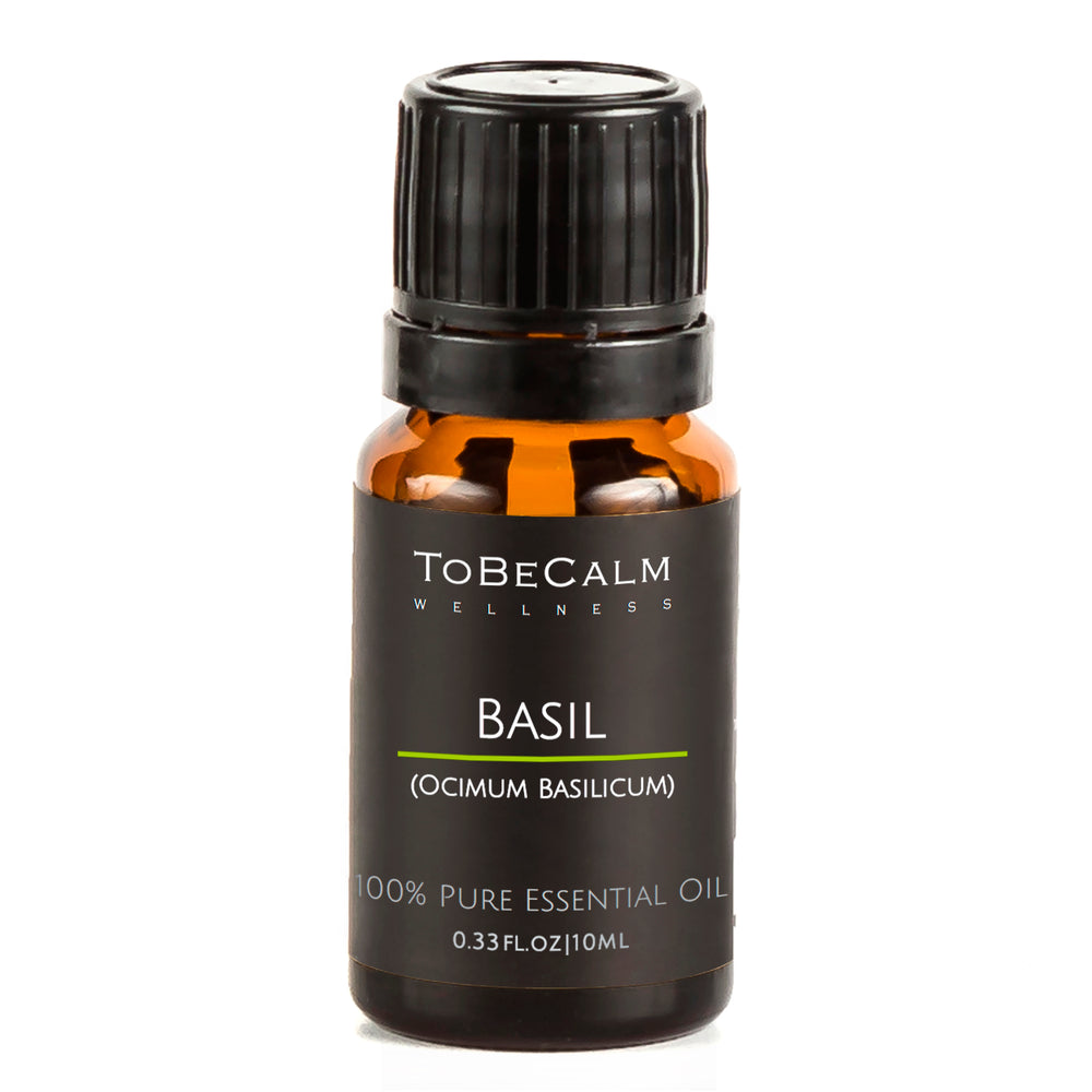 Basil - Single Essential Oil 10ml