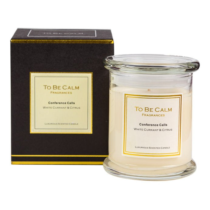 Conference Calls - White Currant & Citrus - Large Candle