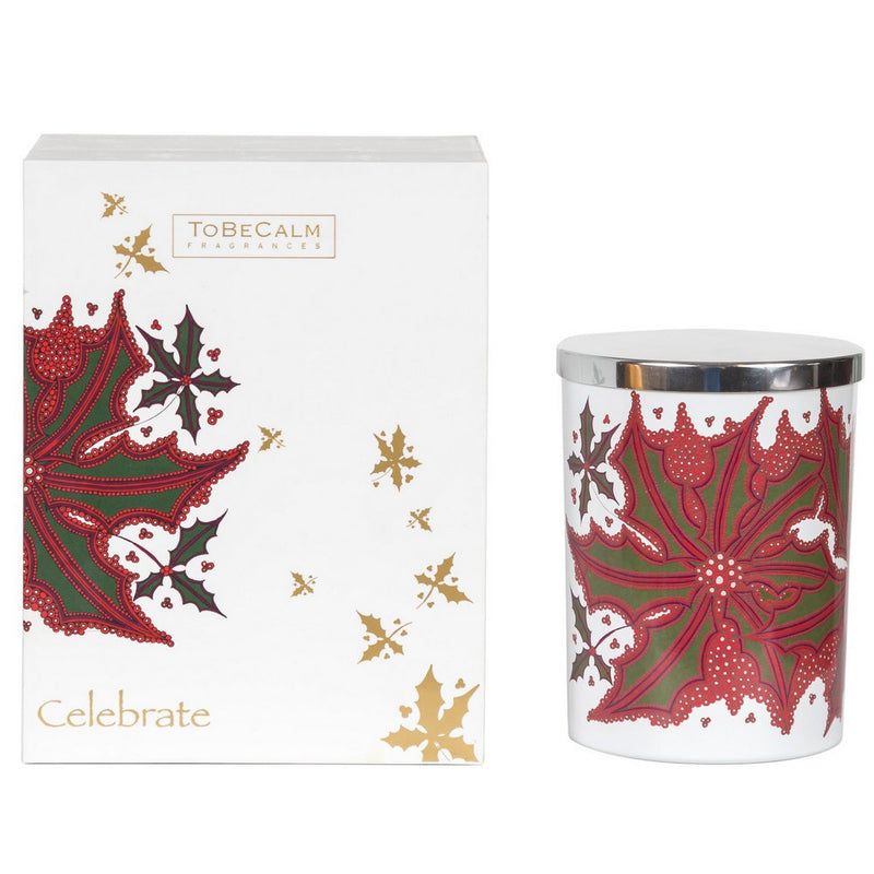 Joy Christmas - Cinnamon & Spiced Apple - Large Candle