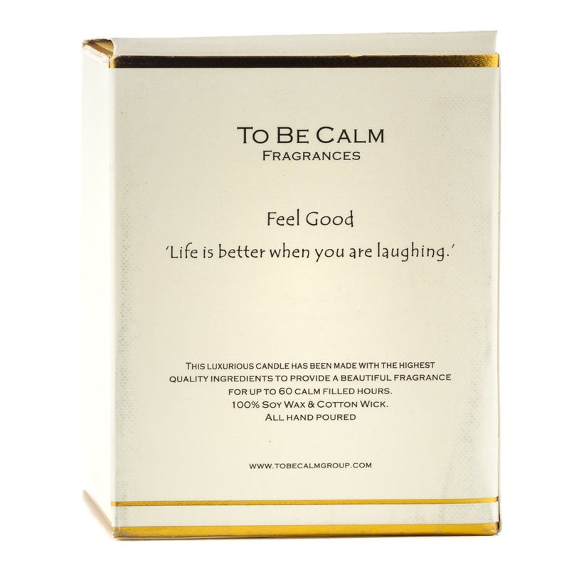 Feel Good - Autumn Bergamot & Grapefruit- Large Candle