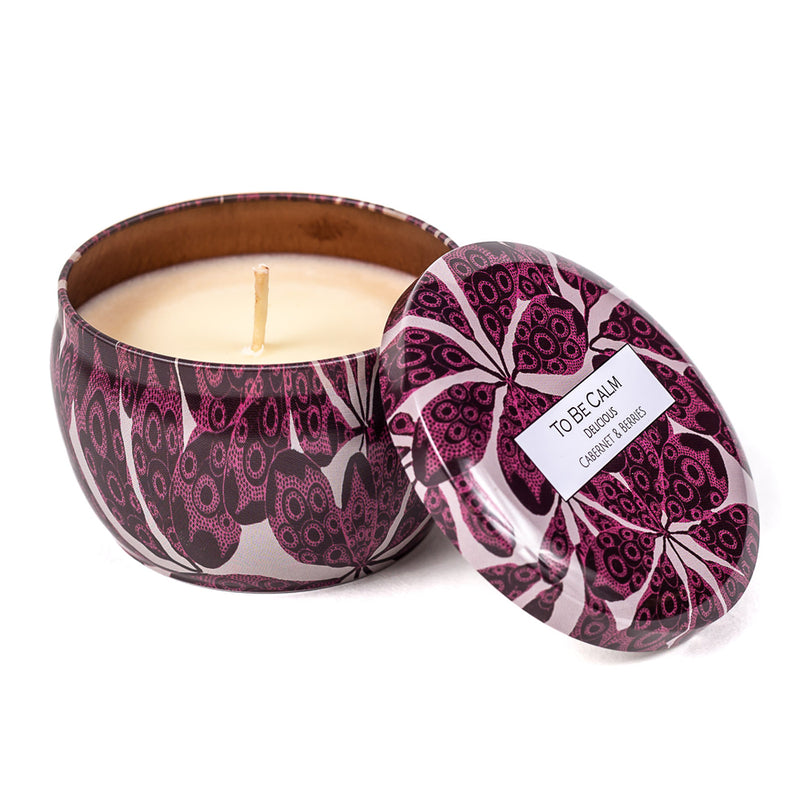 Delicious - Cabernet & Berries - Mini Candle