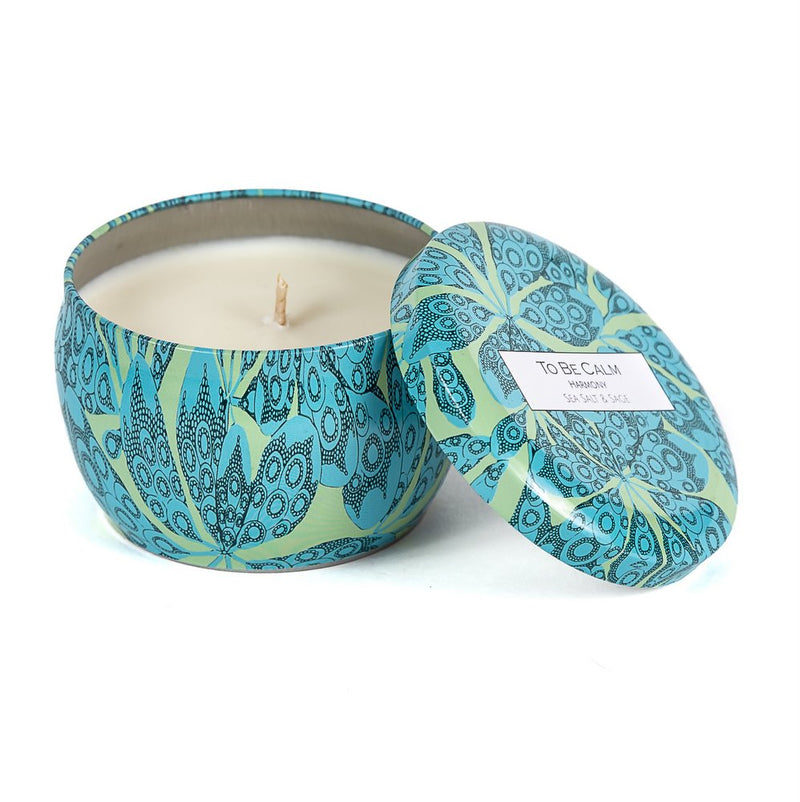 Harmony - Sea Salt & Sage - Mini Candle