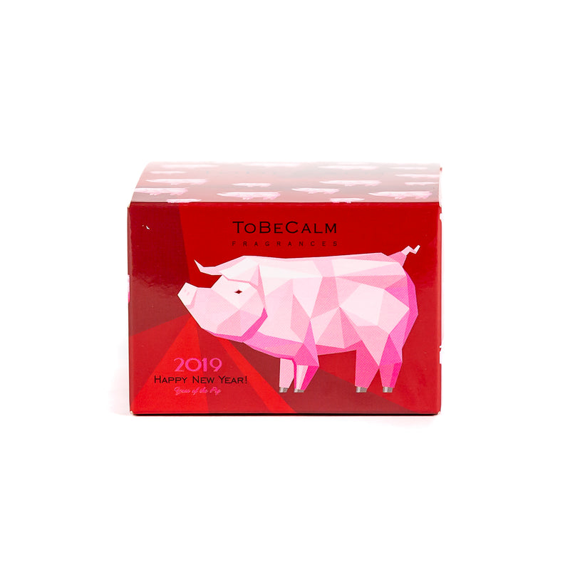 Year of the Pig - Mini Candle - Gift Box