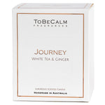 Journey - White Tea & Ginger -  Luxury Large Soy Candle