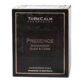 Presence - Sandalwood, Oudh & Cedar -  Luxury Large Soy Candle
