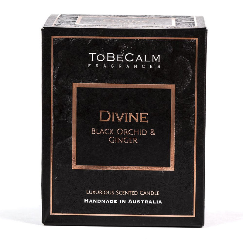 Divine - Black Orchid & Ginger - Deluxe XXL Soy Candle
