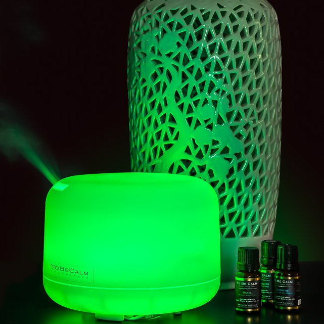 Large Aromatherapy Electronic Diffuser with Noel Essential Oil