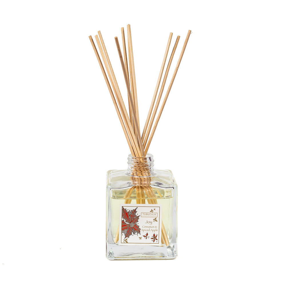 Joy - Cinnamon & Spiced Apple - Reed Diffuser