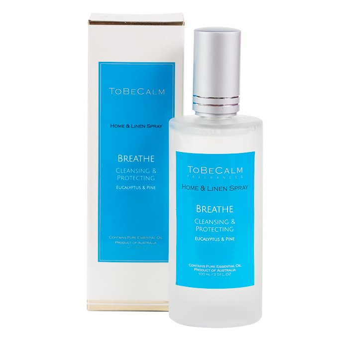 Breathe - Eucalyptus, Myrtle & Tea Tree - Home & Linen Spray 100ml