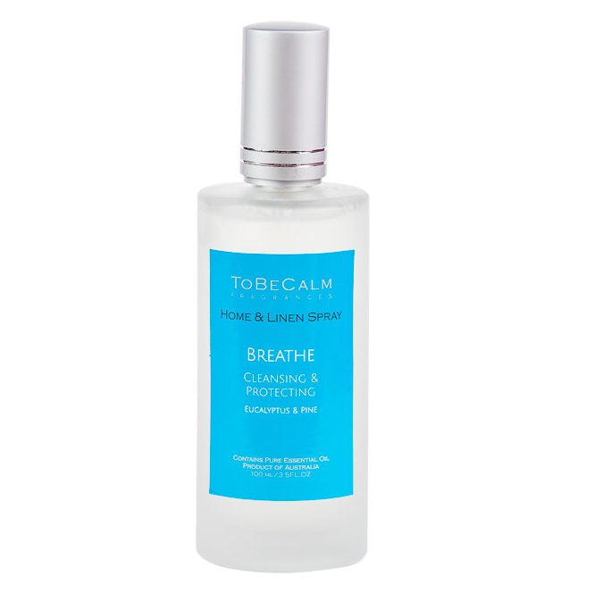 Breathe - Eucalyptus, Myrtle & Tea Tree - Home & Linen Spray