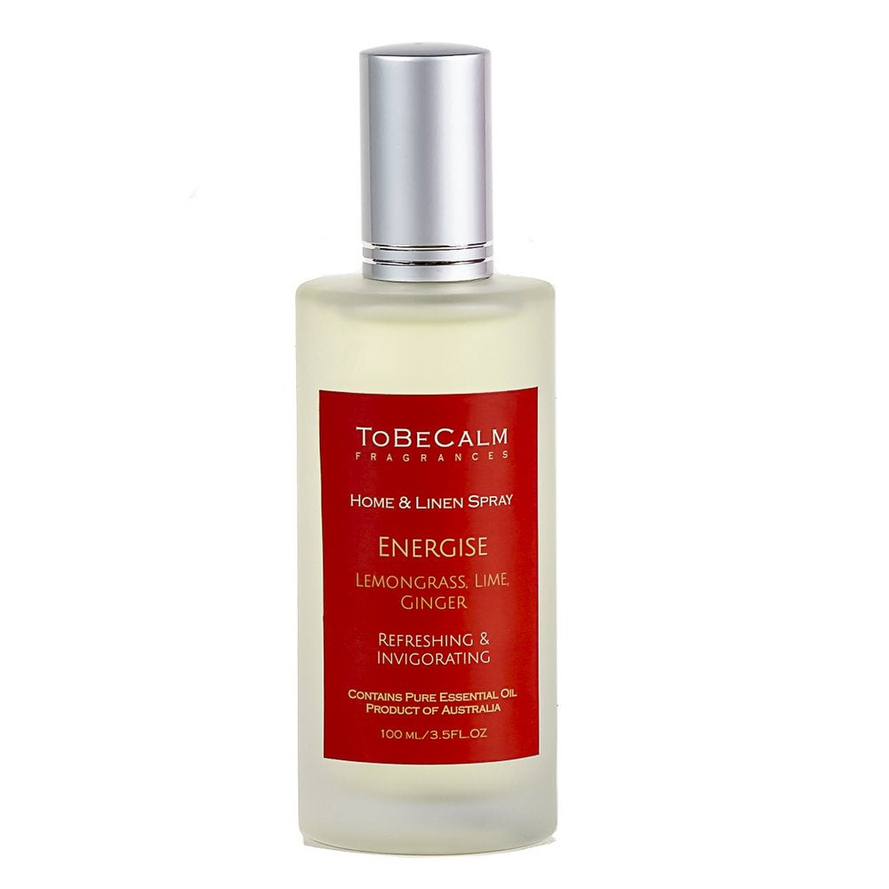 Energise - Lemongrass, Grapefruit & Ginger - Home & Linen Spray 100ml