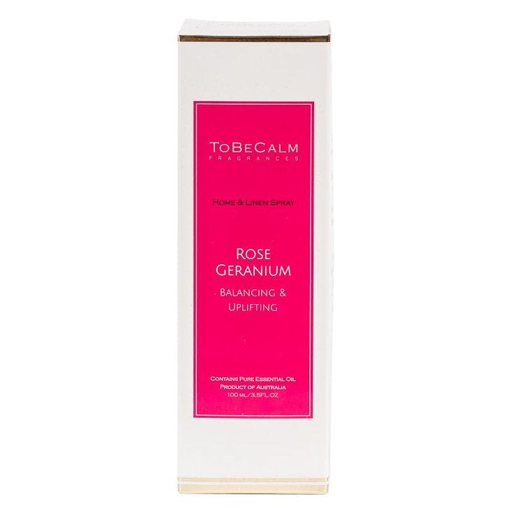 Rose Geranium - Home & Linen Spray