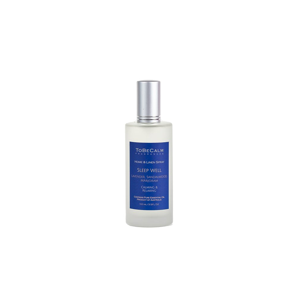 Sleep Well - Lavender, Sandalwood & Marjoram - Home & Linen Spray 100ml