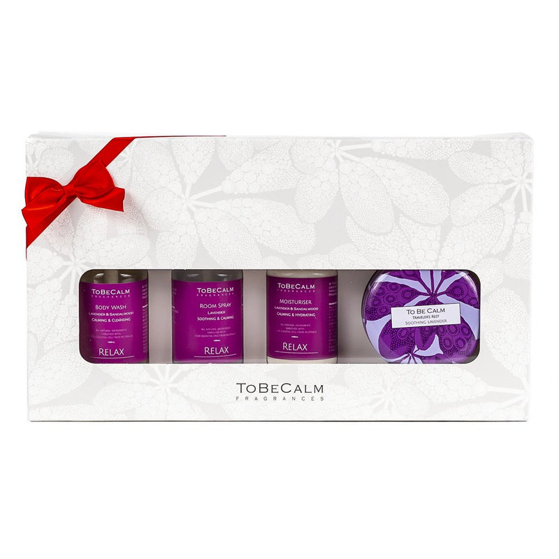 Relax - Lavender Body Wash & Moisturising Lotion - Gift Set