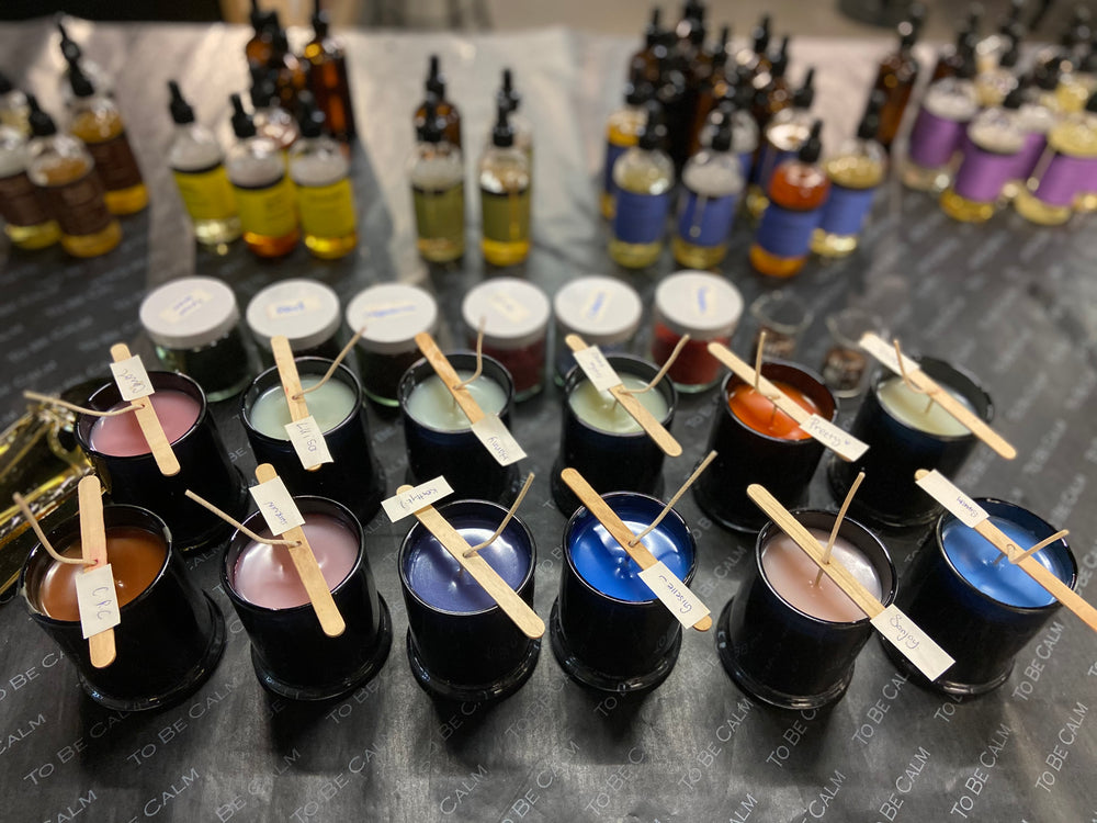 Private Group Candle Making Workshop