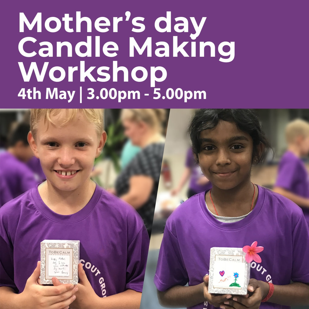Mother's Day Candle Making Workshop