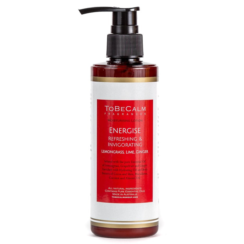 Energise - Lemongrass, Grapefruit & Ginger - Moisturising Lotion