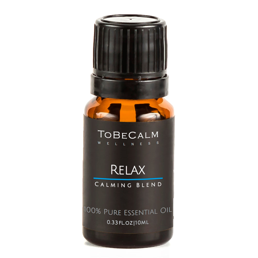 Relax - Sweet Orange, Lavender & Vetiver - Essential Oil Blend 10ml