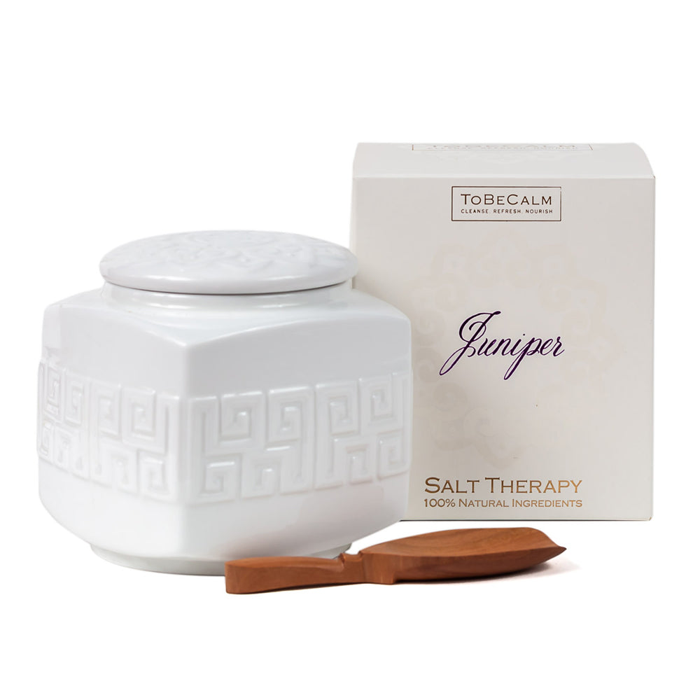 Juniper - Salt Soak/Scrub Tea Caddy