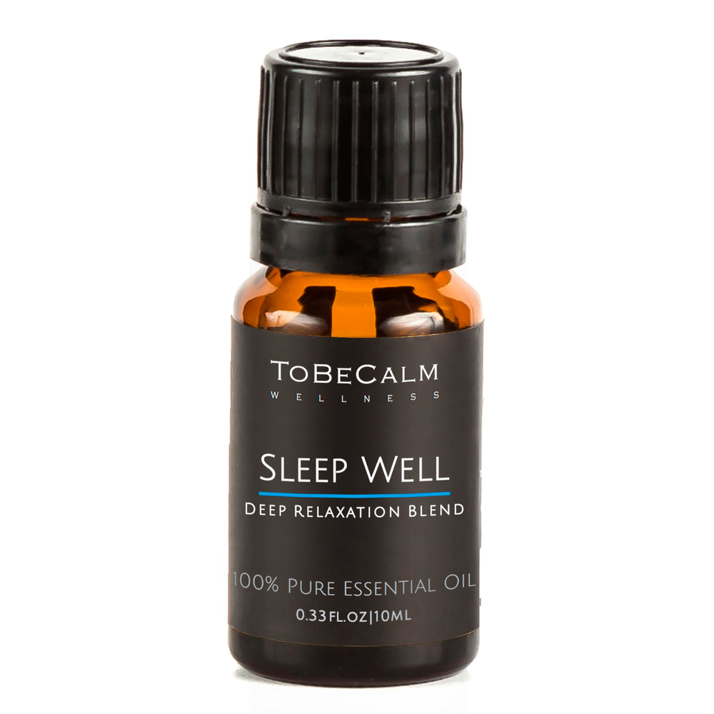 Sleep Well - Marjoram, Vetiver & Lemon - Essential Oil Blend 10ml