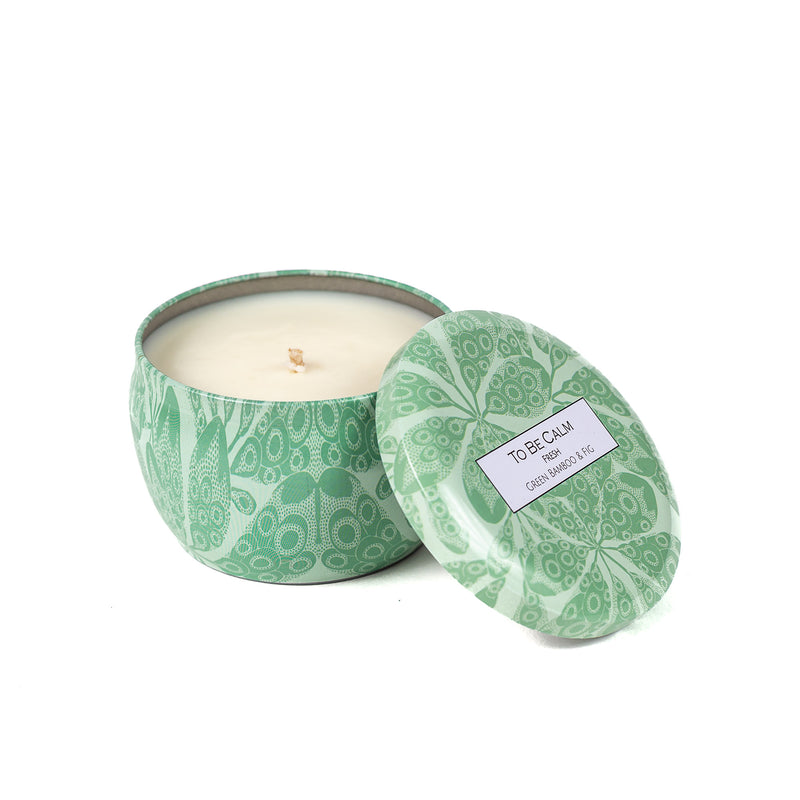 Fresh - Green Bamboo & Fig - Mini Candle