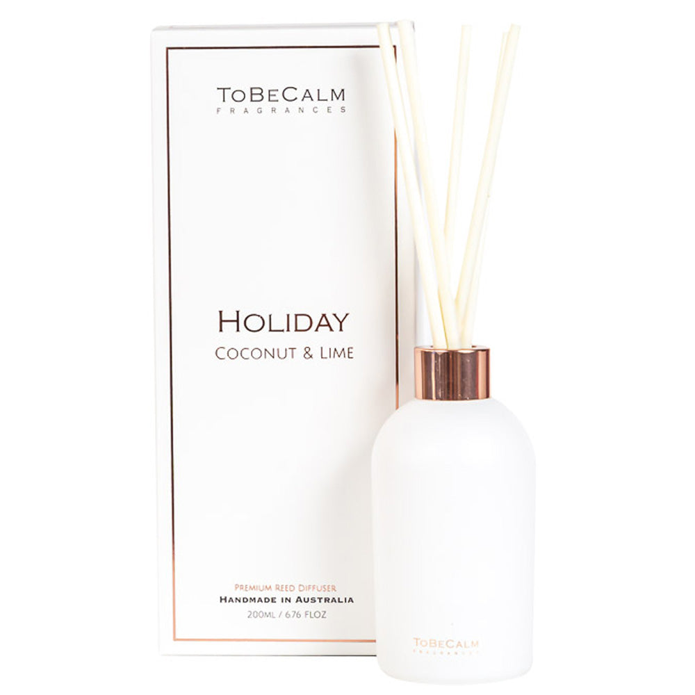 Holiday - Coconut & Lime- Reed Diffuser