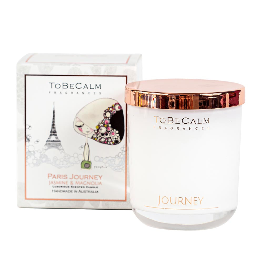 Paris Journey - Jasmine & Magnolia - Medium Soy Candle