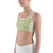 Barcelona Green Sports Bra