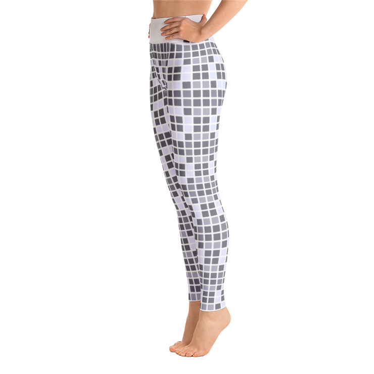 Barcelona Pale Blue Yoga Leggings