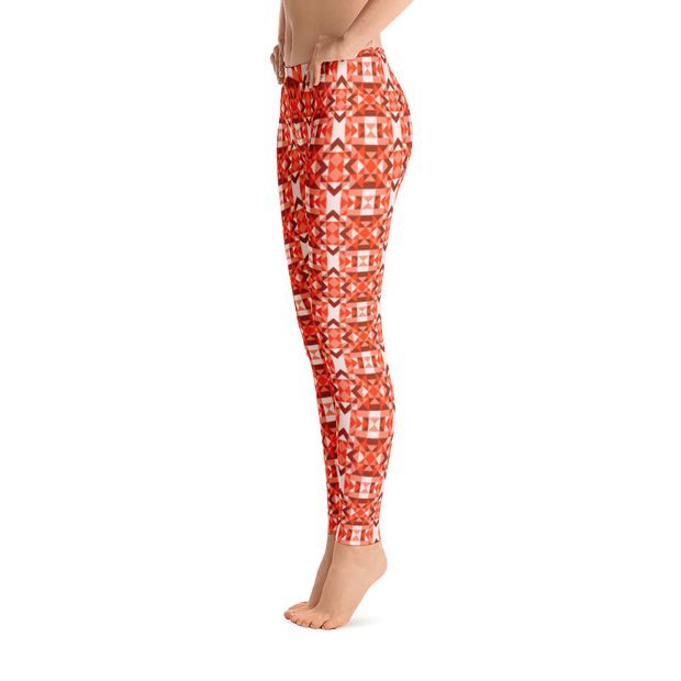 Digital Rose Leggings