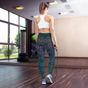 Forest Moonlight Yoga Leggings