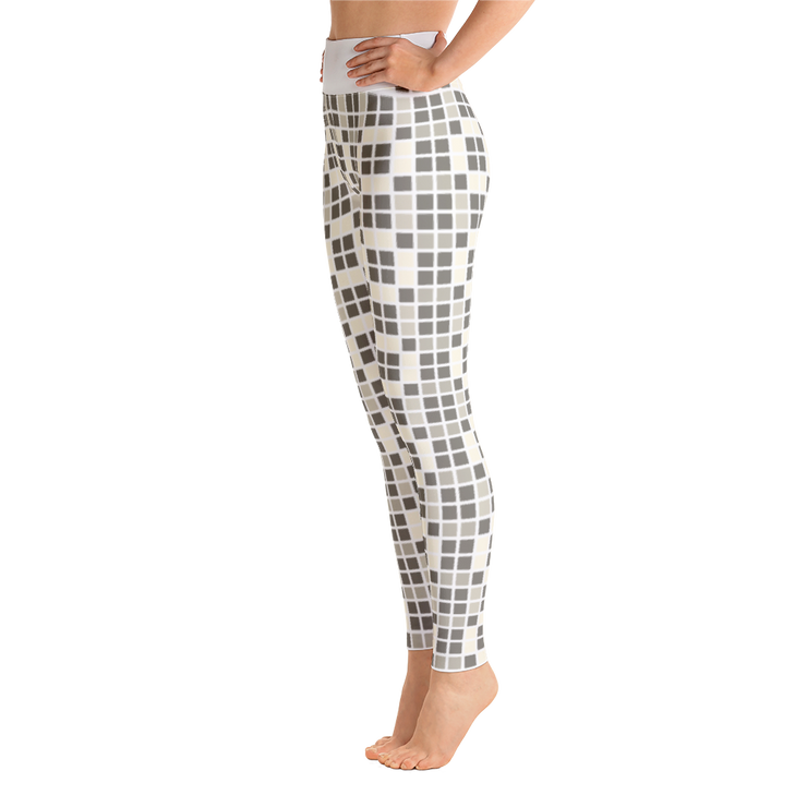 Barcelona Beige Yoga Leggings