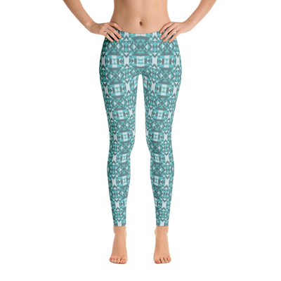 Blue Wave Leggings