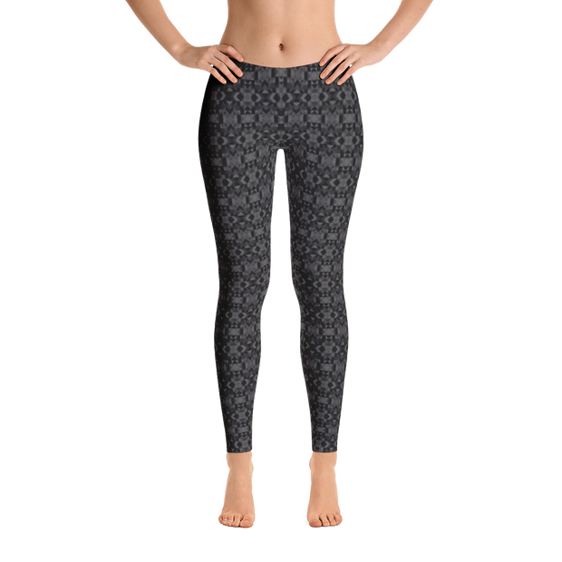 Black Crystal Leggings