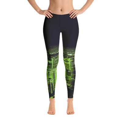 Green City Leggings