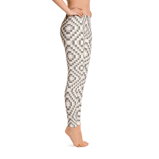 8-bit Beige Leggings