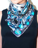 The Lucite Skull Scarf