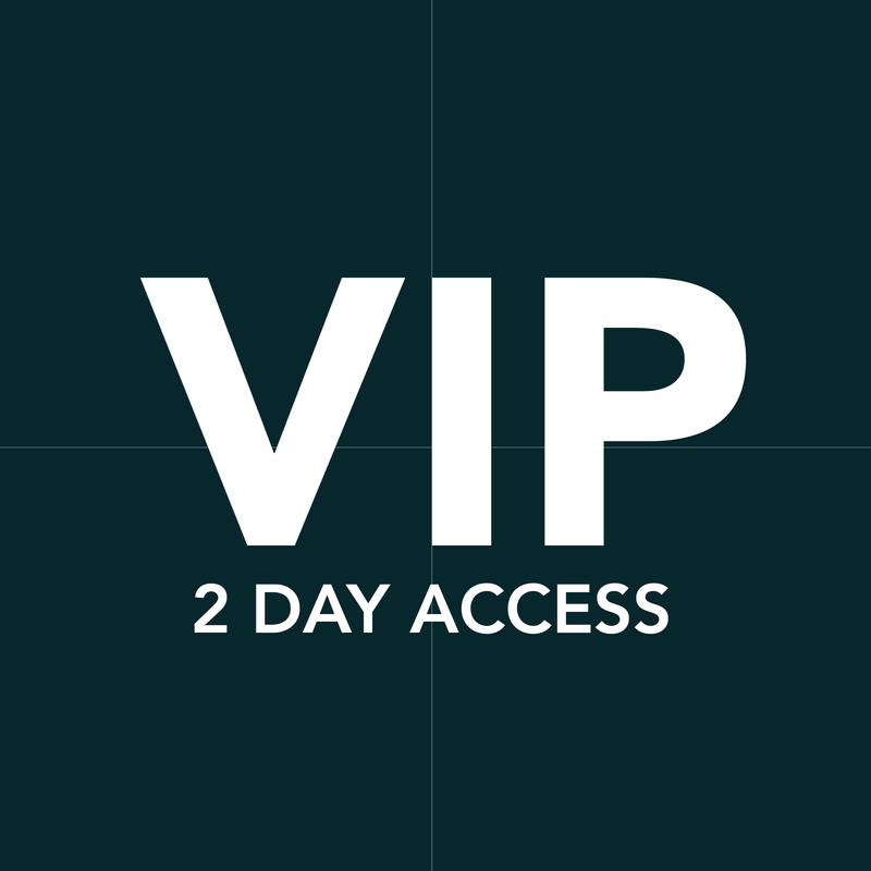 VIP Two Day All Access