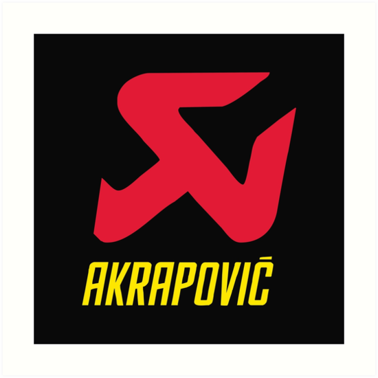 akrapovic motorcycle exhaust logo
