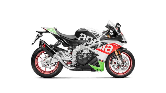 akrapovic evolution line full system aprilia rsv4