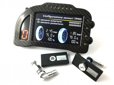 I2m Chrome Pro Motorcycle Dashboard with TPMS system