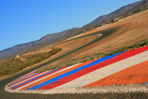 Circuit de Almeria in the glorious spanish sunshine